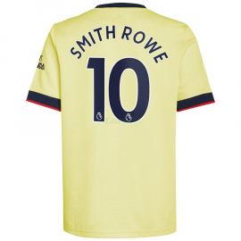 Camiseta Smith Rowe 10 Arsenal 2ª Equipación 2021/2022