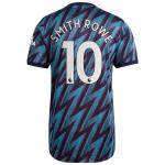 Camiseta Smith Rowe 10 Arsenal 3ª Equipación 2021/2022