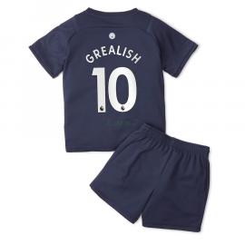 Camiseta Grealish 10 Manchester City 3ª Equipación 2021/2022 Niño Kit