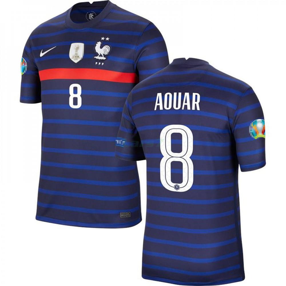 Camiseta Aouar 8 Francia 1ª Equipación 2021