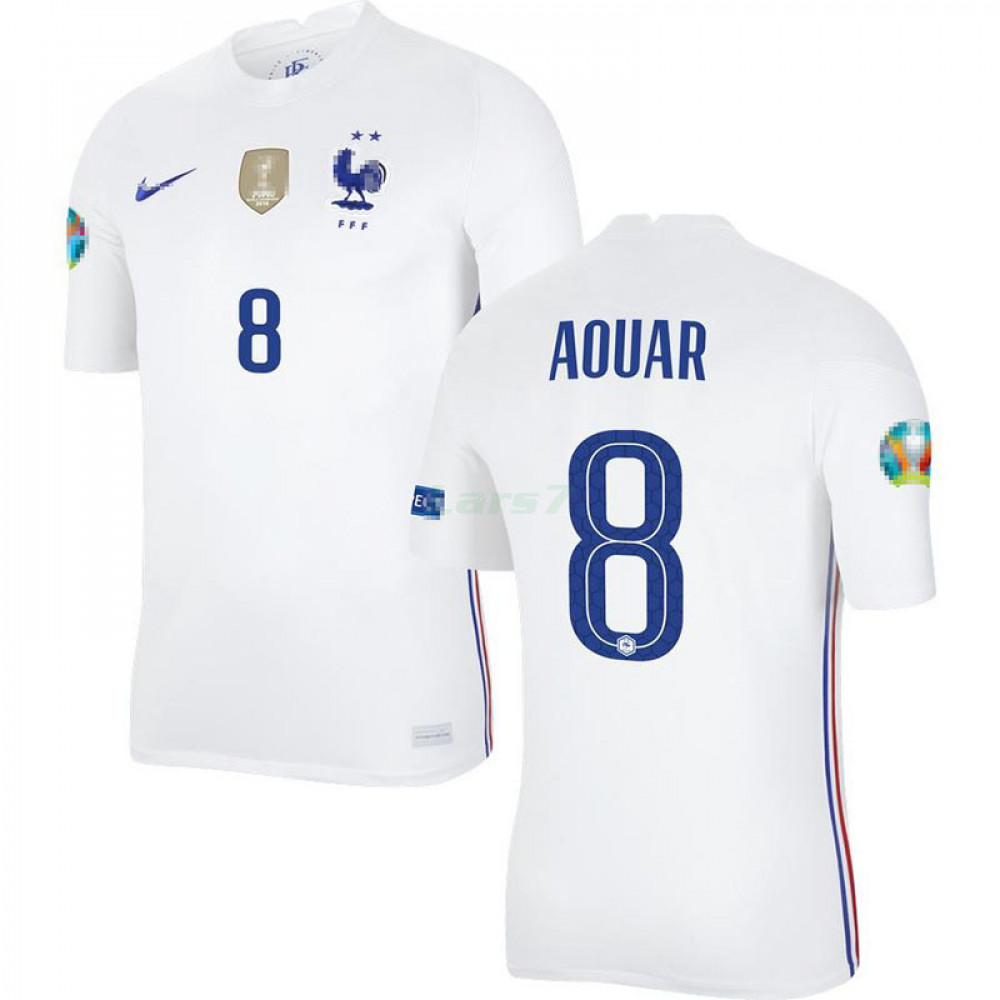 Camiseta Aouar 8 Francia 2ª Equipación 2021