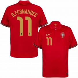 Camiseta B.Fernandes 11 Portugal 1ª Equipación 2021