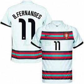 Camiseta B.Fernandes 11 Portugal 2ª Equipación 2021