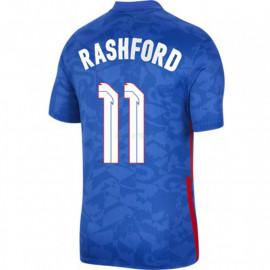 Camiseta Rashford 11 Inglaterra 2ª Equipación 2021