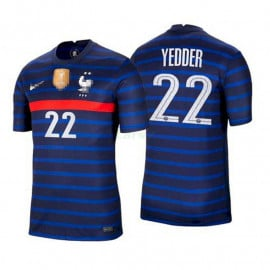 Camiseta Yedder 22 Francia 1ª Equipación 2021
