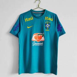 Camiseta de entrenamiento Brasil 2020/2021 Azul