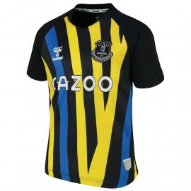Camiseta De Portero Everton FC 2021/2022 Negro