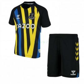 Camiseta De Portero Everton FC 2021/2022 Niño Kit Negro