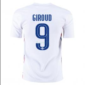 Camiseta Giroud 9 Francia 2ª Equipación 2021