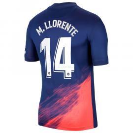 Camiseta M. Llorente 14 Atlético de Madrid 2ª Equipación 2021/2022