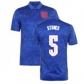 Camiseta Stones 5 Inglaterra 2ª Equipación 2021
