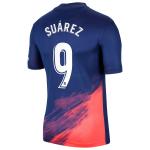 Camiseta Suárez 9 Atlético de Madrid 2ª Equipación 2021/2022