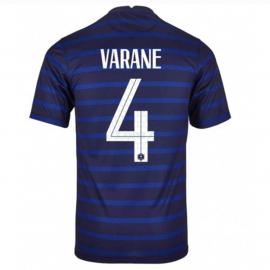 Camiseta Varane 4 Francia 1ª Equipación 2021