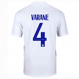 Camiseta Varane 4 Francia 2ª Equipación 2021