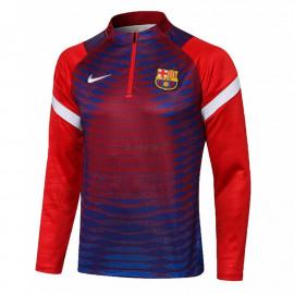 Sudadera De Entrenamiento Barcelona 2021/2022 Azul/Rojo