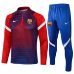 Sudadera De Entrenamiento Barcelona 2021/2022 Kit Azul/Rojo