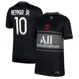 Camiseta Neymar Jr 10 PSG 3ª Equipación 2021/2022