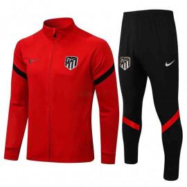 Chandal Atlético de Madrid 2021/2022 Cuello Alto Rojo