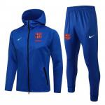 Chandal Barcelona 2021/2022 Con Capucha Azul