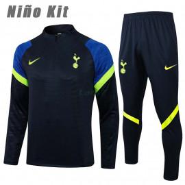 Sudadera De Entrenamiento Tottenham Hotspur 2021/2022 Niño Kit Azul