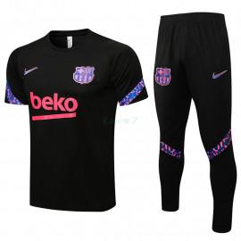 Camiseta de Entrenamiento Barcelona 2021/2022 Kit Negro