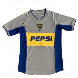 Camiseta Boca Junior 2ª Equipación Retro 2002