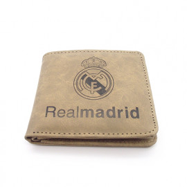 Billetera Real Madrid Caqui