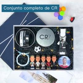Conjunto Completo de Muñeco Regalo Fútbol Messi/Cristiano Ronaldo/Neymar