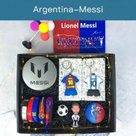 Conjunto de Muñeco regalo Fútbol Messi/Cristiano Ronaldo/Neymar