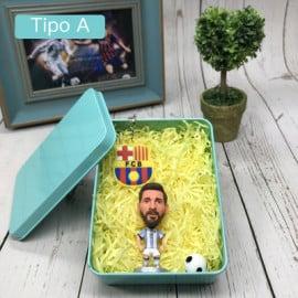 Fútbol Messi/Cristiano Ronaldo Conjunto de Muñeco