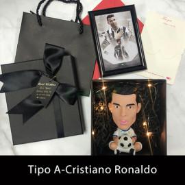 Muñeco de  Fútbol Messi/Cristiano Ronaldo/Neymar Conjunto Regalo